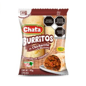 burritos de chicharron a la mexicana chata